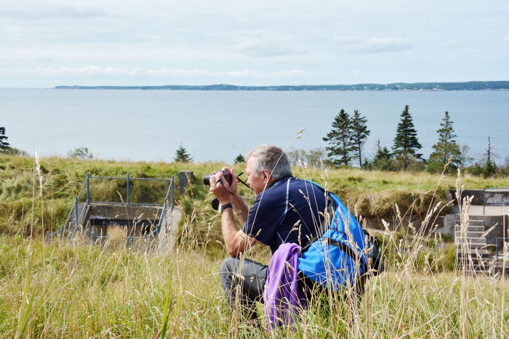 Photographer on McNabb's Island in Halifax, NS by Picture Perfect Tours