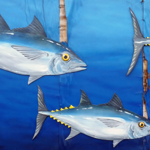 Tuna Mural at Fisherman's Cove on an Eastern Shore Photo Tour by Picture Perfect Tours