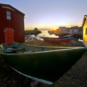 Blue Rocks, NS in the early morning sunrise during our Lunenberg Photo Tour.
