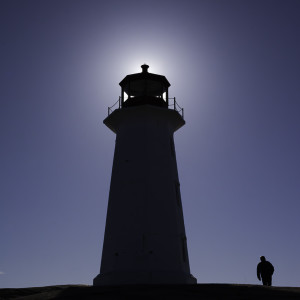 Silhouette of the infamous lighthouse at Peggy's Cove, NS by Picture Perfect Tours