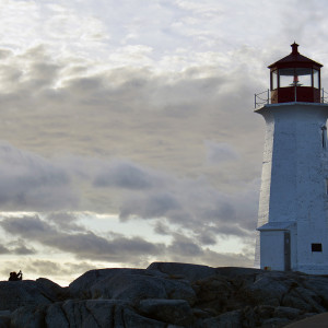 Peggy's Cove, NS at sunset by Picture Perfect Tours