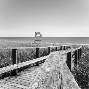Long exposure image of Lawrencetown, NS by Picture Perfect Tours
